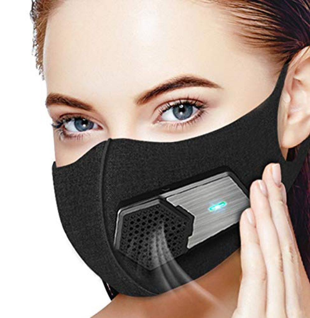 masque anti pollution lavable filtre