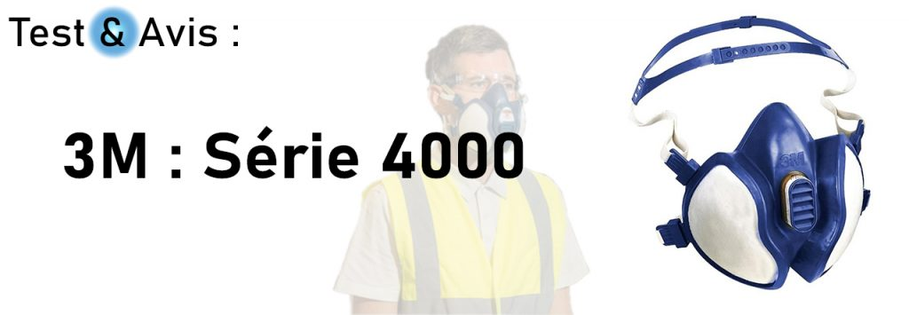 masque antipollution 3m serie 4000